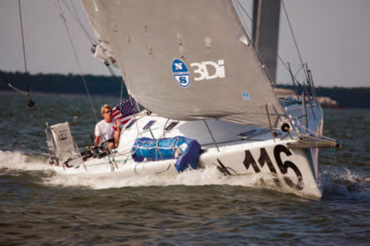 Icarus Racing is one of several teams of professional sailors hoping to win the 2014 Atlantic Cup presented by 11th Hour Racing. © Billy Black/billyblack.com