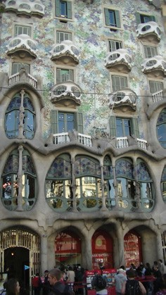 From the Log of Persevere: One Word: Gaudí