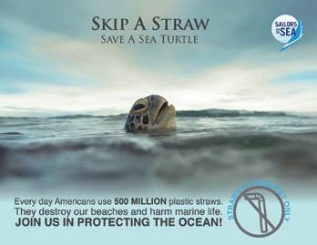 Skip a Straw – Save a Sea Turtle
