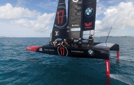 Tucker Thompson on the America's Cup