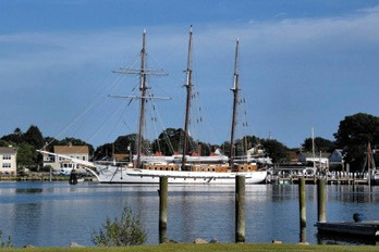Tall Ship Mystic Serving as Platform for OHPRI's Summer Sessions