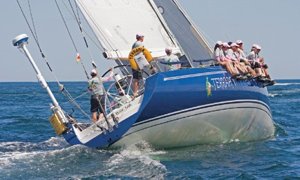 Terrapin Racing sailing Bermuda Race