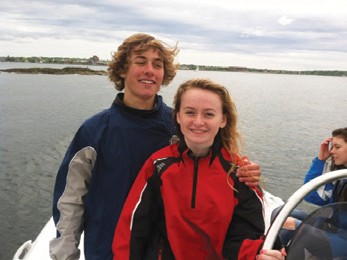 Tyler Kumes and Julia Hopkins
