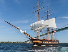 SSV Oliver Hazard Perry Sets Sail
