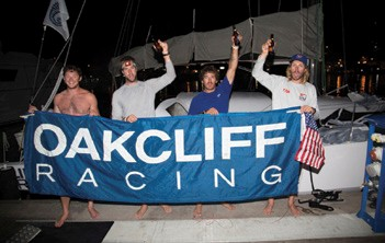 Oakcliff Ocean Racing Team Wins Class in RORC Transatlantic Race