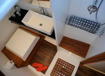 Alpha 42 Catamaran cabin