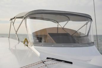 Alpha 42 Catamaran control lines