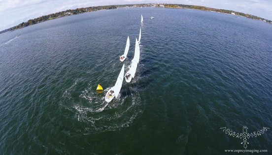 Drone Footage in sailing
