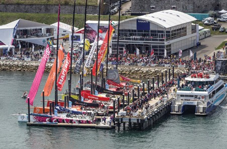 Welcome to the Volvo Ocean Race Village in Newport, RI!