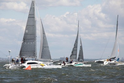 Gotham Multihull Series day 1