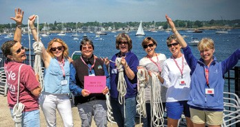 Big Turnout for Women's Sailing Conference
