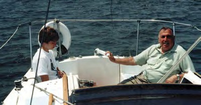Sailing is in my blood, but I learned what I know from my dad