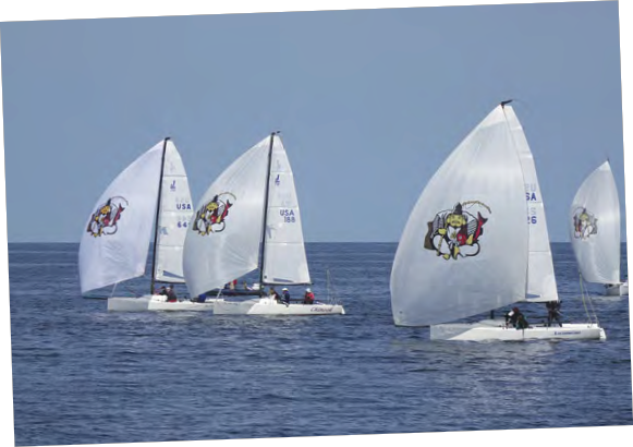 A Special American Yacht Club Spring Series for J/70 Fleet 15