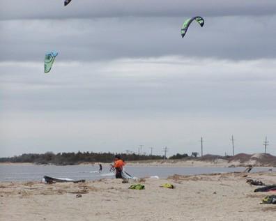 Kite Surfing, Atlantic Highlands