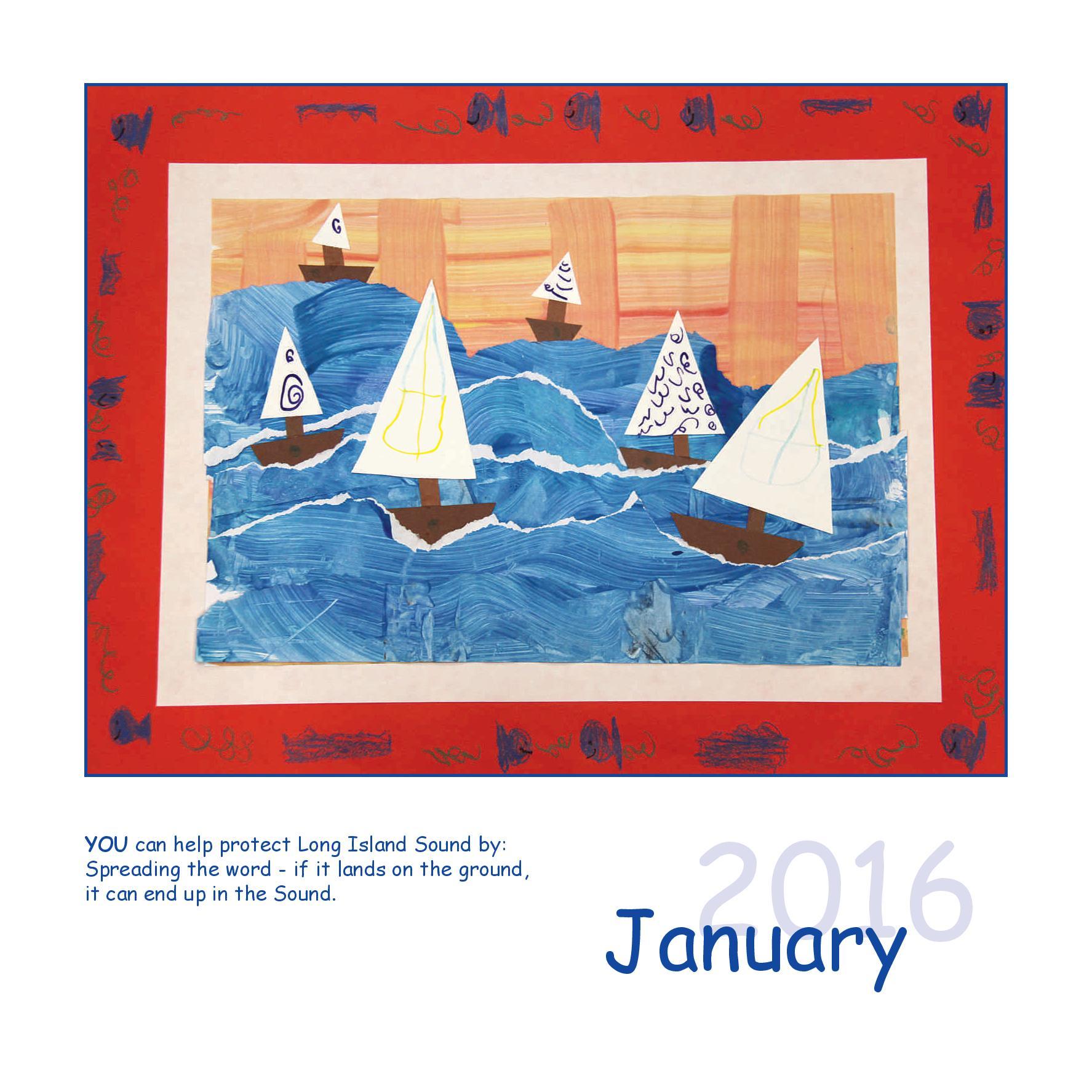 Long Island Sound Calendar