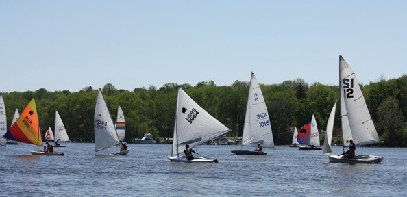 Connecticut River Dinghy Distance Race May 9, 2015