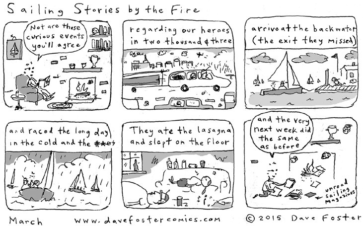 Sailing Stories by the Fire Comic by Dave Foster
