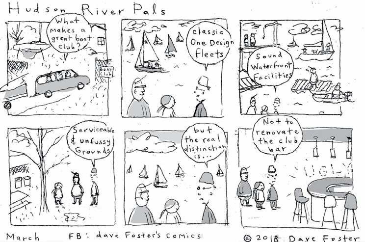 Comic by Dave Foster: Hudson River Pals