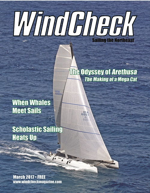 WindCheck Magazine The Odyssey of Arethusa: The Making of a Mega Cat
