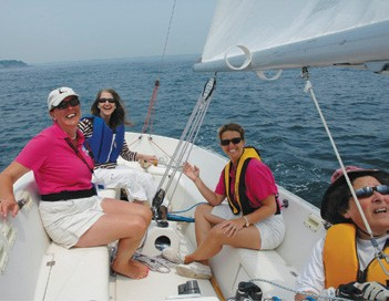 Women sailing conference