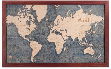 Uniquely Nautical Chart Art