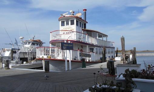 The paddlewheeler Delta Lady based on Great South Bay, Long Island, NY