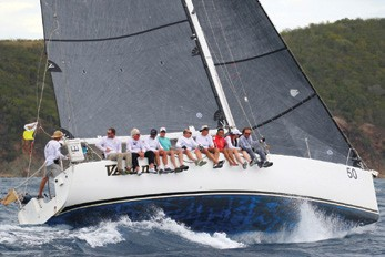 VAruna Victorious in the St. Thomas International Regatta!