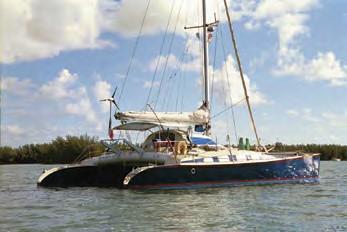 FLO OUtremer catamaran