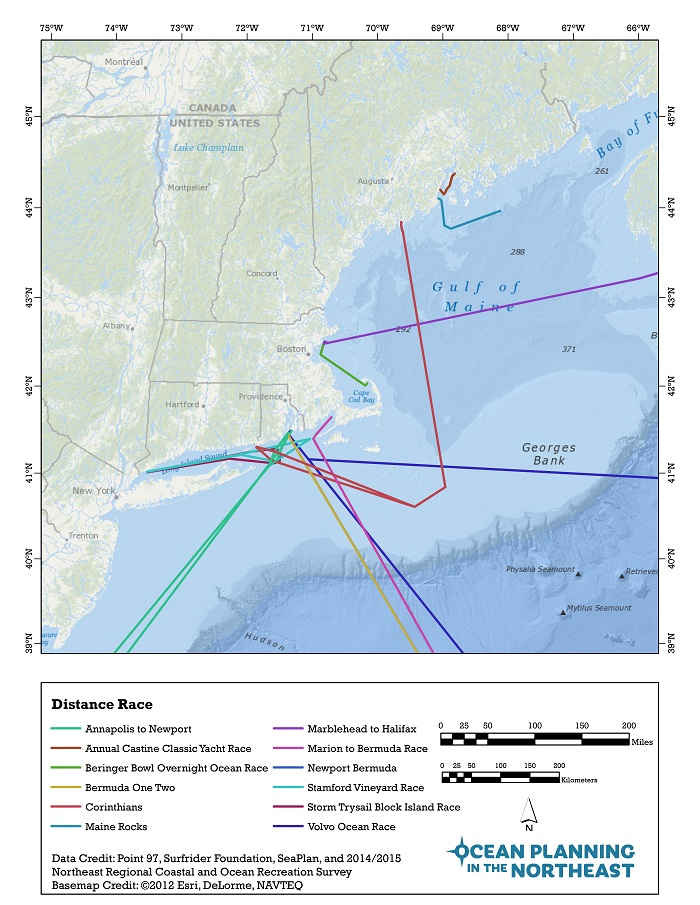 Characterizing Ocean Recreation in New England