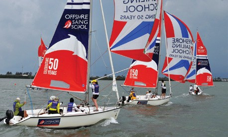 Offshore Sailing School 50th Anniversary Celebrity Pro-Am Regatta