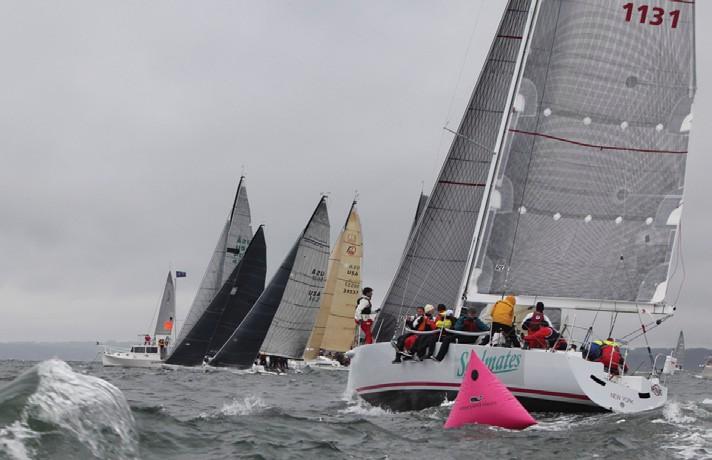 Stony Brook University Sailing Team at IOR