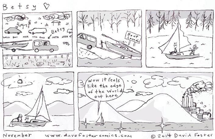 November 2014 Comic: Betsy