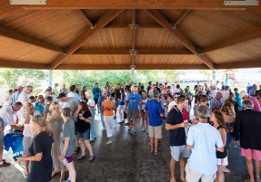 Cedar Point Yacht Club new pavillion