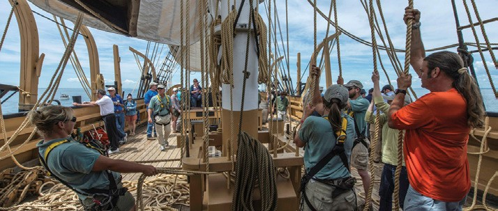 A Sailing Deckhand's Perspective on the Charles W. Morgan's 38th Voyage
