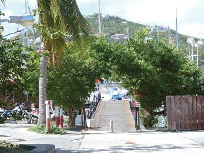 Sunsail base at St. Martin