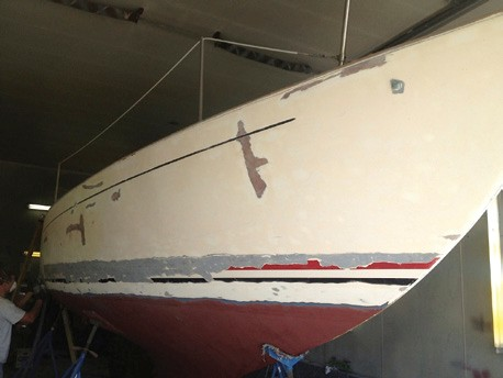 Alberg 30 restoration