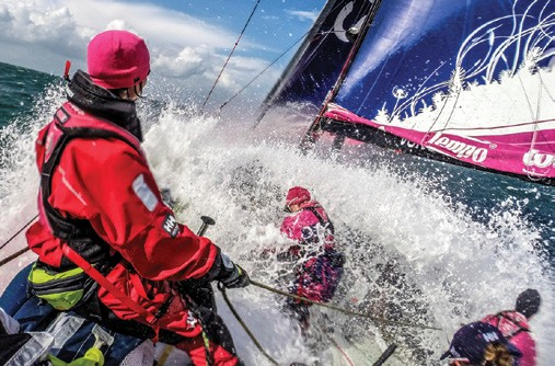 Volvo Ocean Race on board