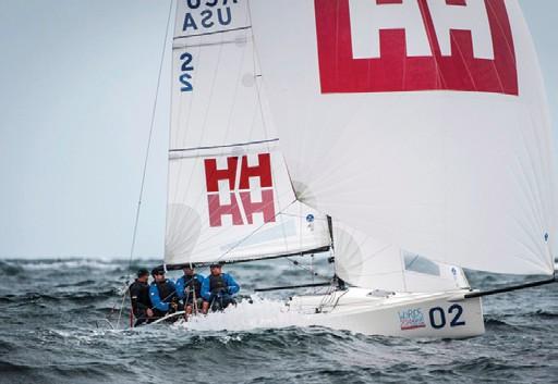 Team Helly Hansen first J/70 Champion
