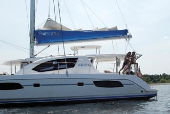 Leopard 44 Catamaran Family fun