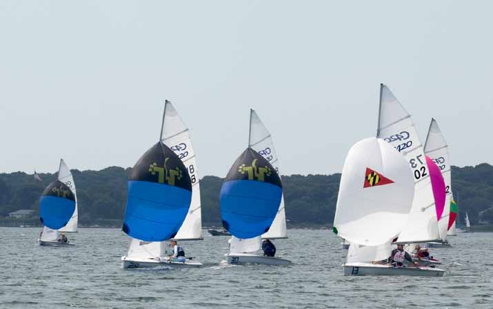 Fourth Annual Dinghy Race by Volvo Construction Equipment: One of a Kind