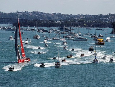 Volvo Ocean Race 2014-15 Spectator Fleet