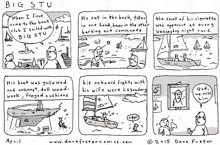 April 2015 Comic by Dave Foster