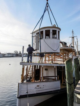 A Busy Season in the Mystic Seaport Shipyard