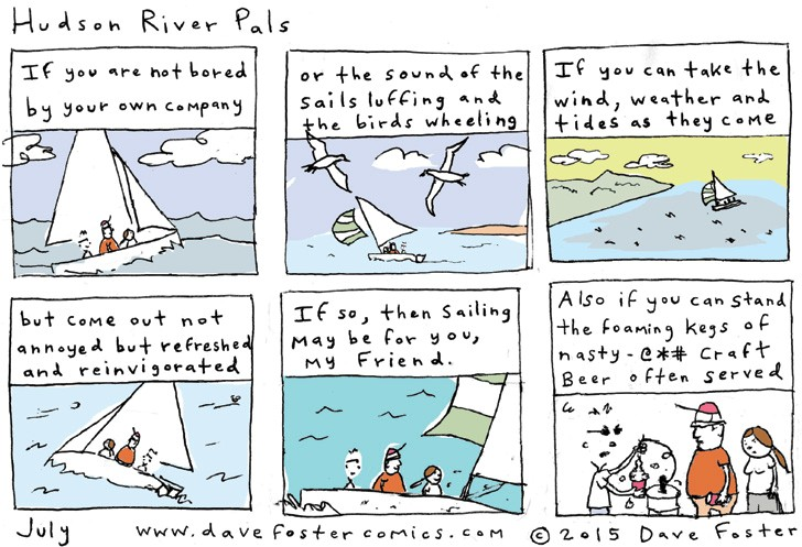 July 2015 Comic by Dave Foster