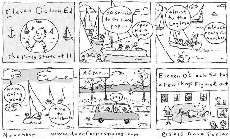 November Comic Dave Foster Eleven O'Clock Ed