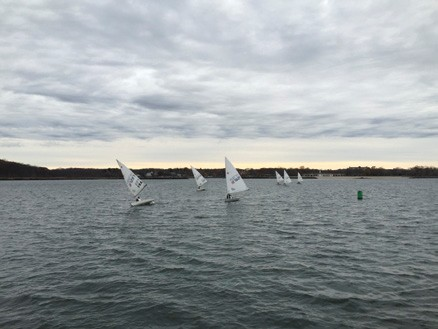 Winter Laser Racing in New Rochelle, NY