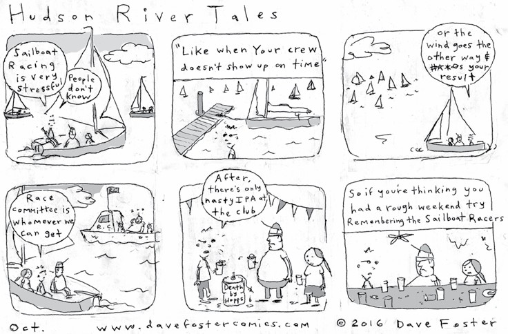 October 2016 Comic – Hudson River Tales