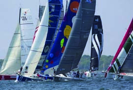 The third running of The Atlantic Cup presented by 11th Hour Racing will provide terrific spectating in Charleston, SC, New York, NY and Newport, RI, and environmental education opportunities for young people in all three ports. © Billy Black