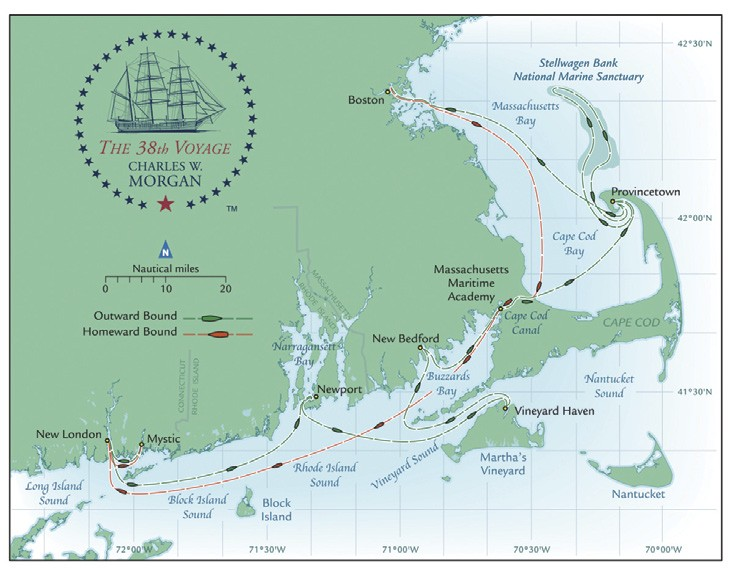 Charles W Morgan Voyage