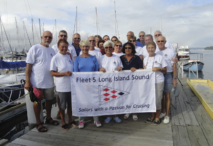 Fleet 5 Long Island Sound's Flotilla Cruise in Rhode Island